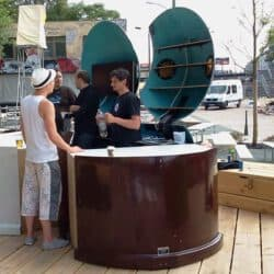 spreeDesign Berlin | Metall- und Holzmanufaktur - Outdoor Bars | Ladenbau