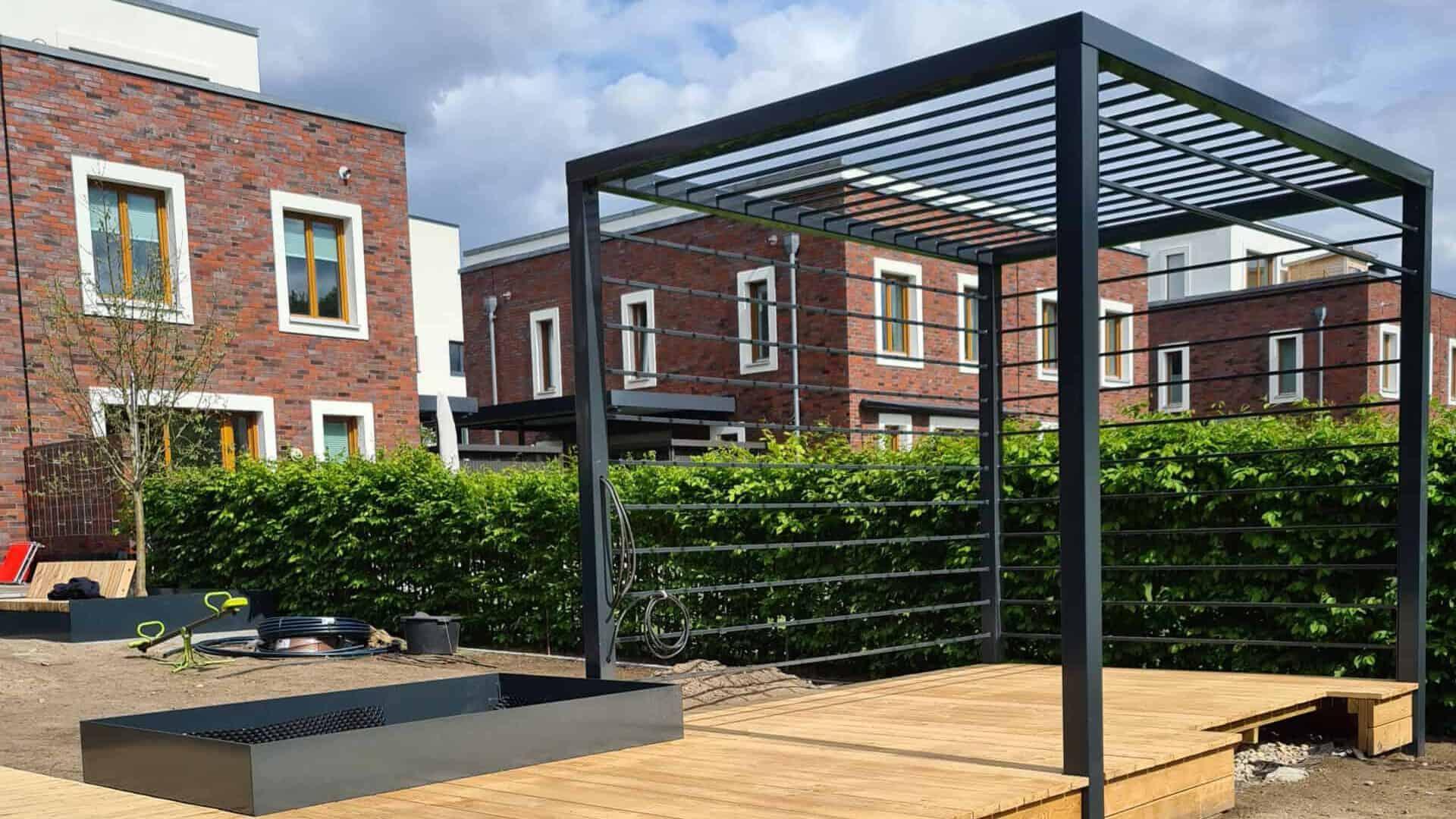 Garten in Dahlem | Stahlbau