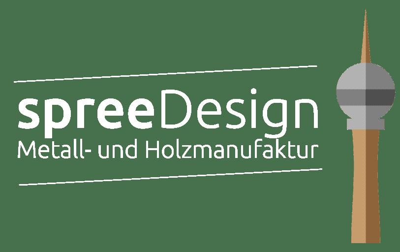 spreeDesign Logo Weiß